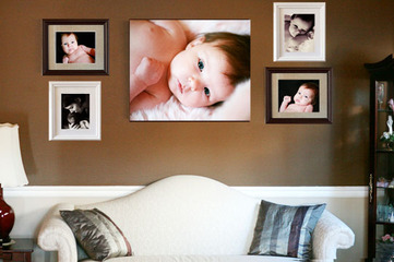 Wall Portrait Collection I  Baby Sprouts Child Photography Blog ideas
